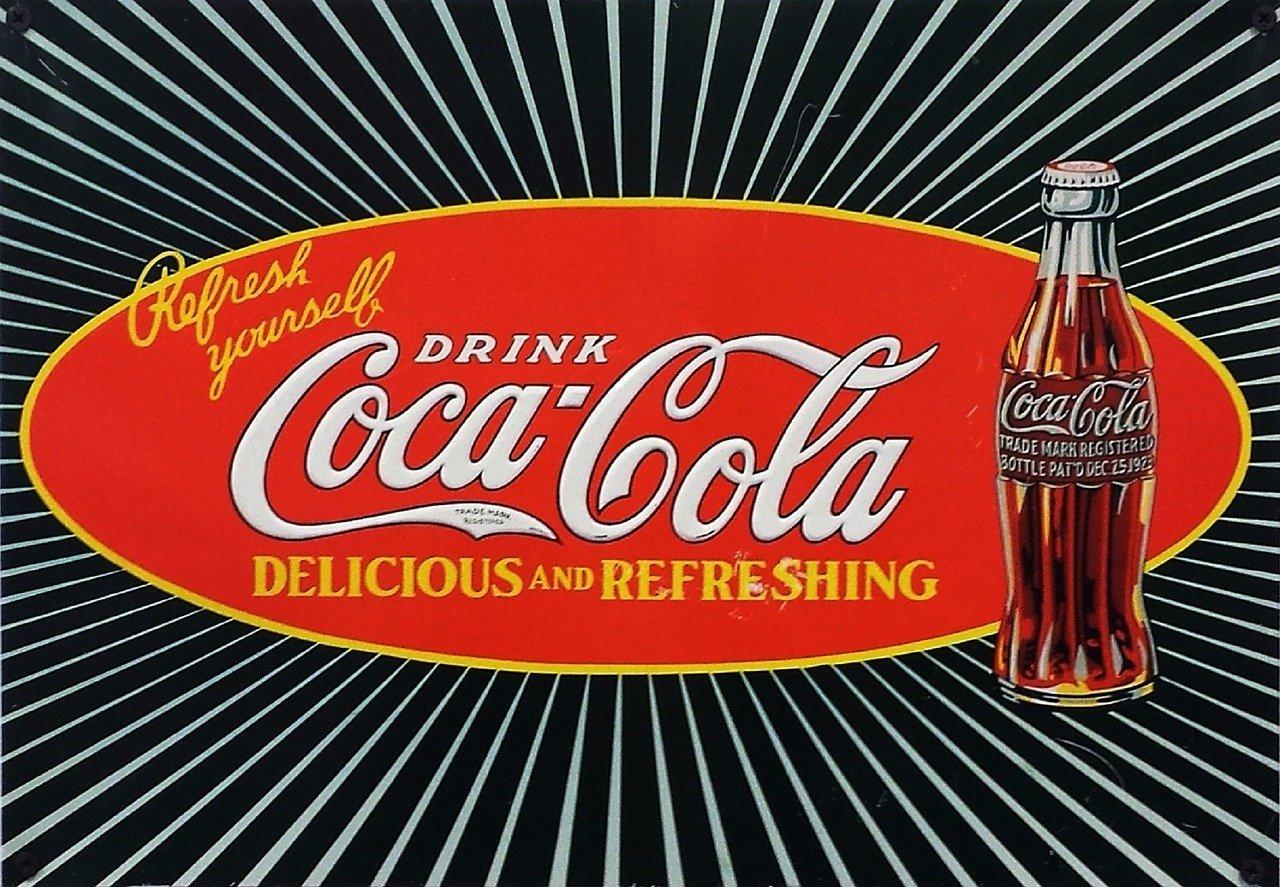 Logo storico Coca Cola
